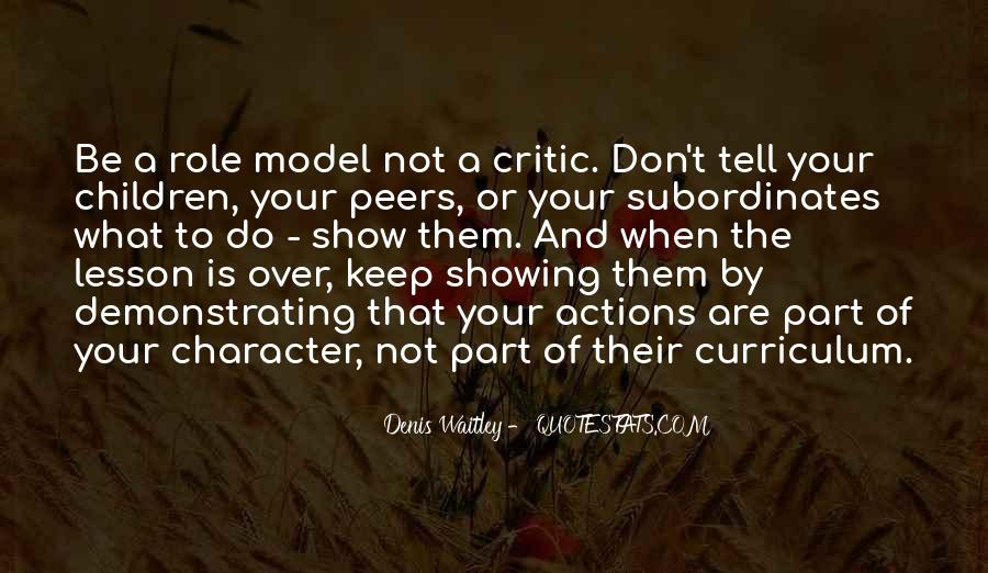 Quotes About Character And Actions #1296597