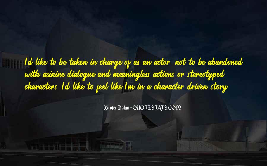 Quotes About Character And Actions #152334