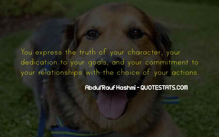 Quotes About Character And Actions #1565694