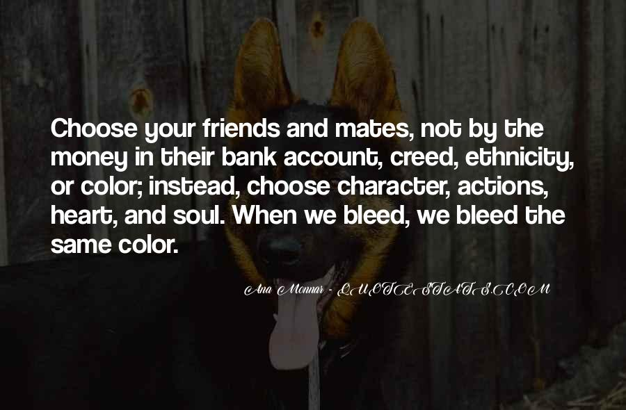 Quotes About Character And Actions #1617427