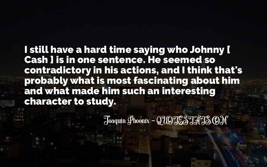 Quotes About Character And Actions #1643271