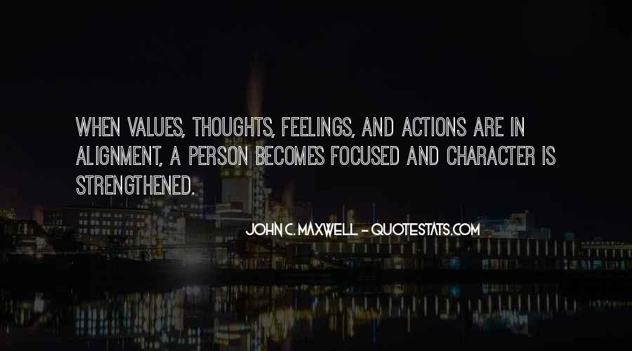 Quotes About Character And Actions #279339