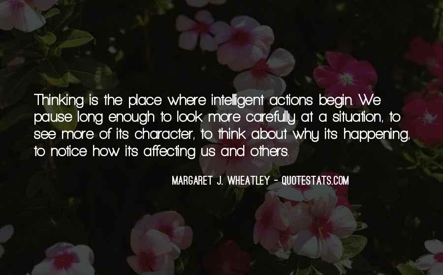 Quotes About Character And Actions #302225