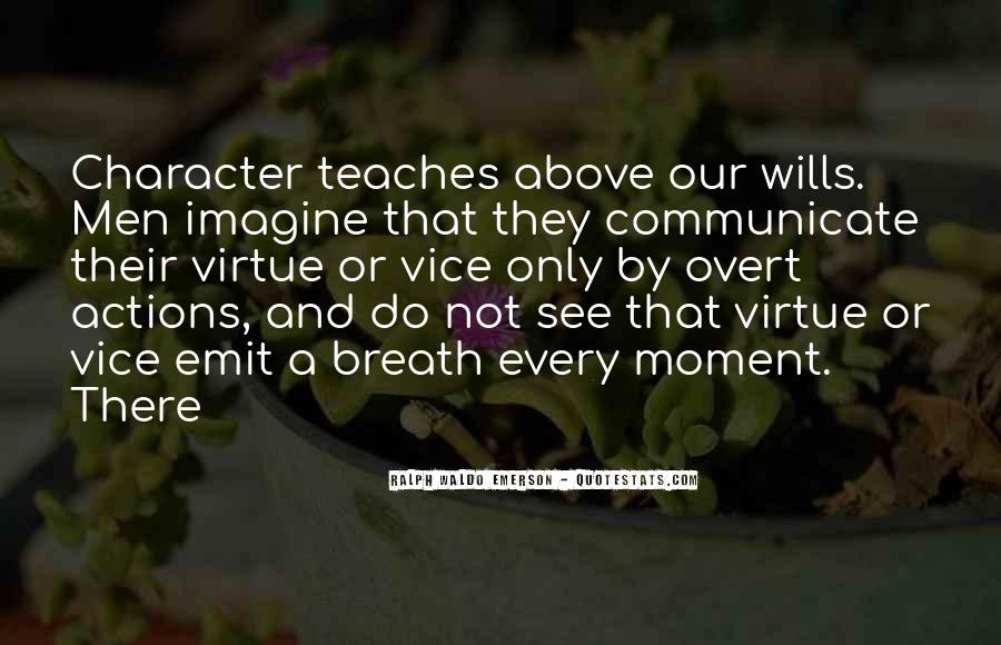 Quotes About Character And Actions #51905