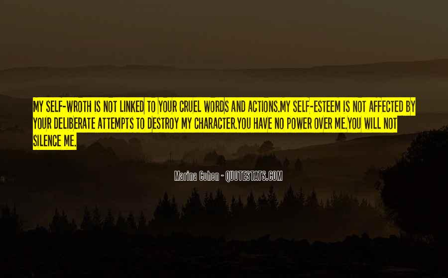 Quotes About Character And Actions #576800