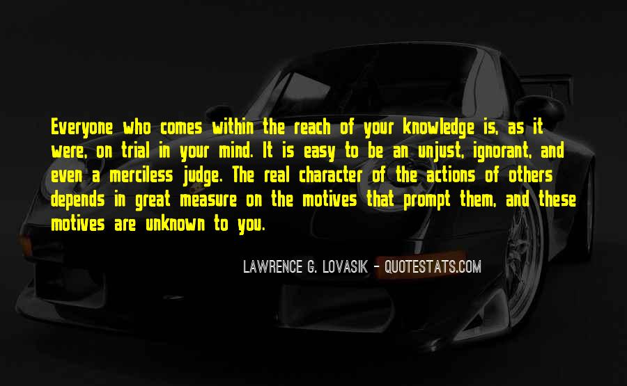 Quotes About Character And Actions #608800