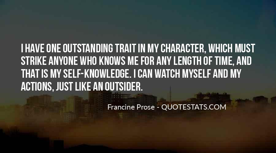 Quotes About Character And Actions #725229