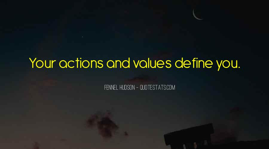 Quotes About Character And Actions #964346