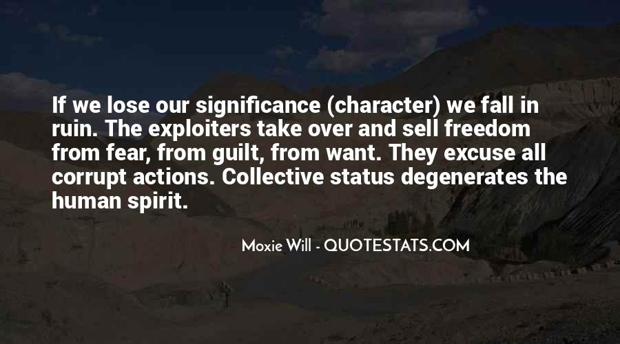 Quotes About Character And Actions #974117
