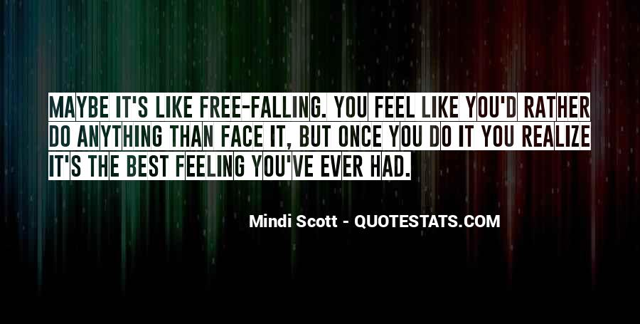 Quotes About Free Falling #1406683