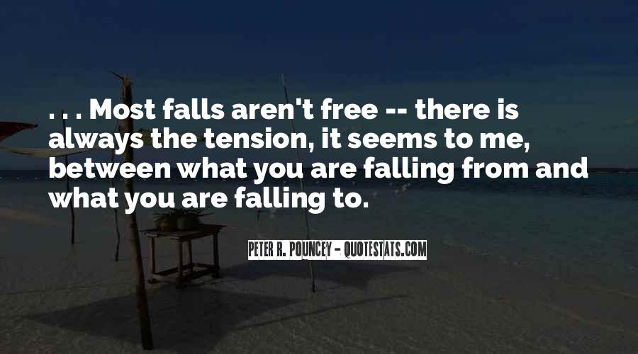 Quotes About Free Falling #854027