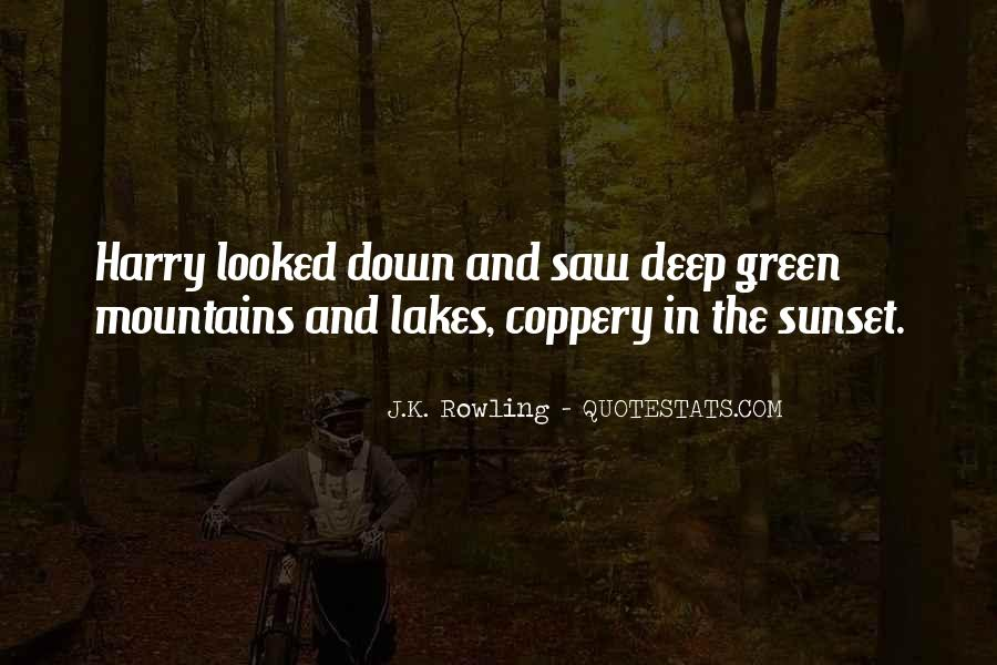 Quotes About Lakes And Mountains #1469278