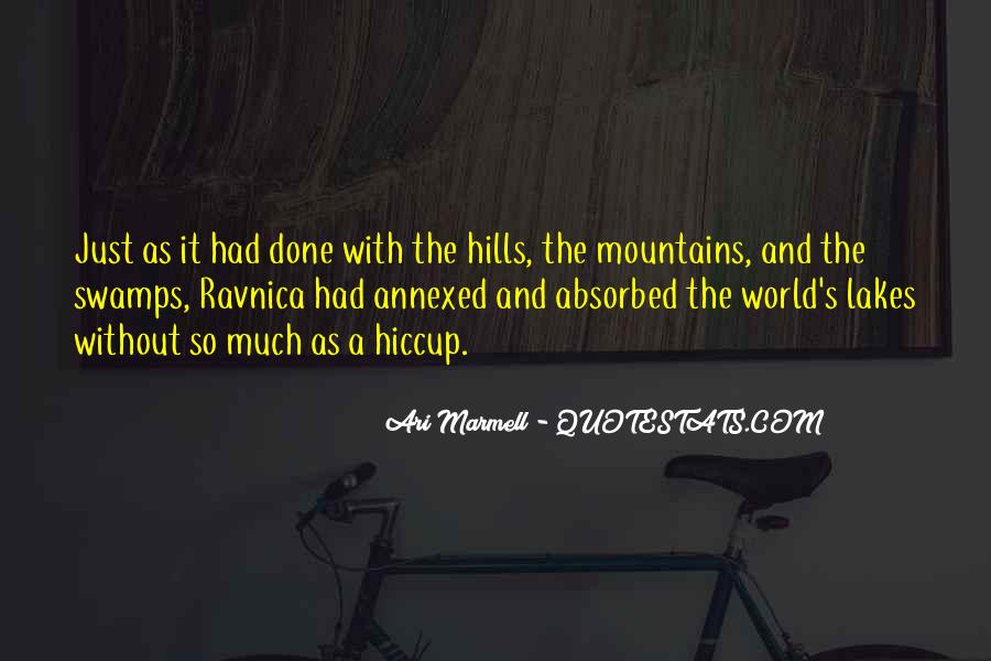 Quotes About Lakes And Mountains #1596579