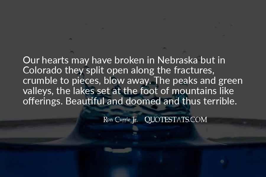 Quotes About Lakes And Mountains #1682878