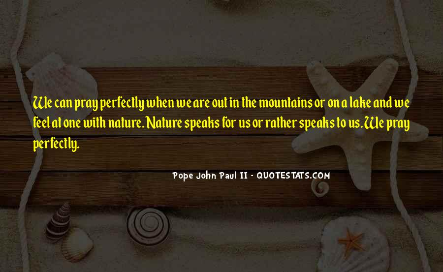 Quotes About Lakes And Mountains #940587