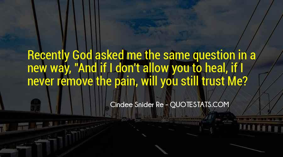 Quotes About If You Don't Trust Me #239410
