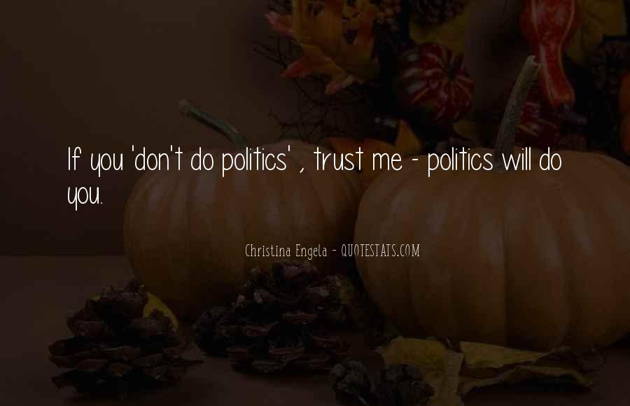 Quotes About If You Don't Trust Me #57365