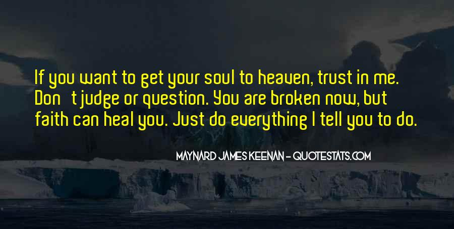 Quotes About If You Don't Trust Me #724680