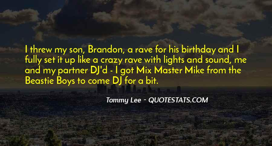 Quotes About My Son Birthday #1581584