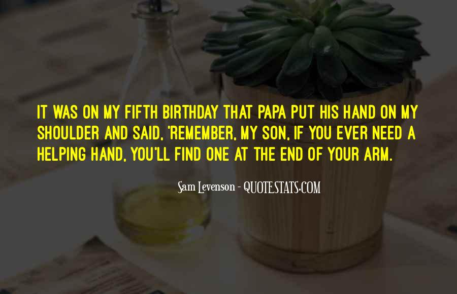 Quotes About My Son Birthday #1668676