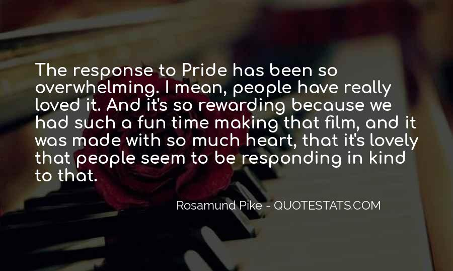 Quotes About Rosamund #312099