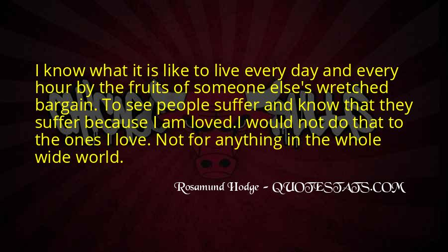 Quotes About Rosamund #34782