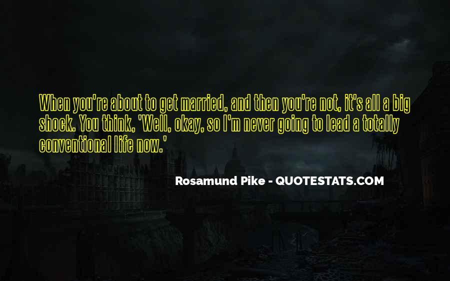 Quotes About Rosamund #396784