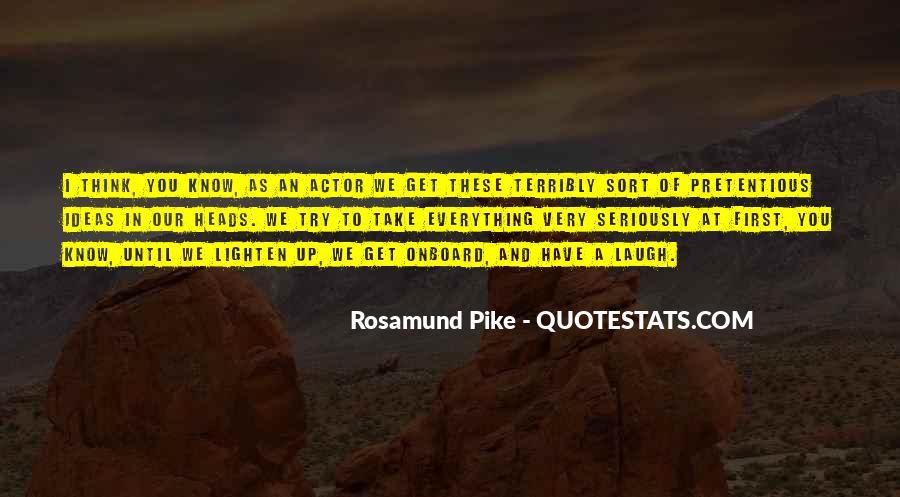 Quotes About Rosamund #492538