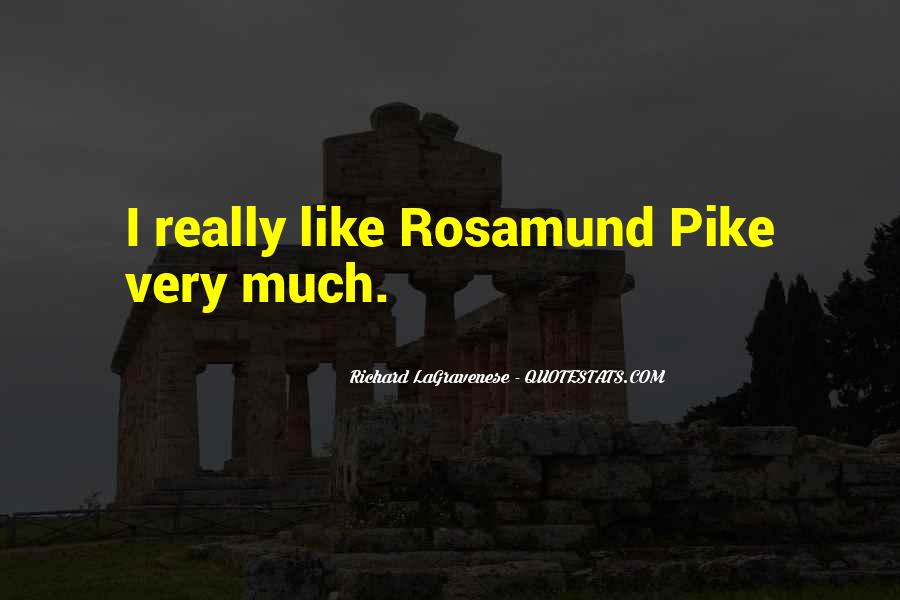 Quotes About Rosamund #646758
