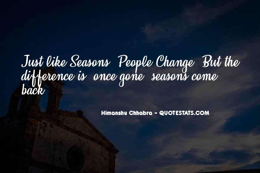 Quotes About Change And Goodbye #1491634