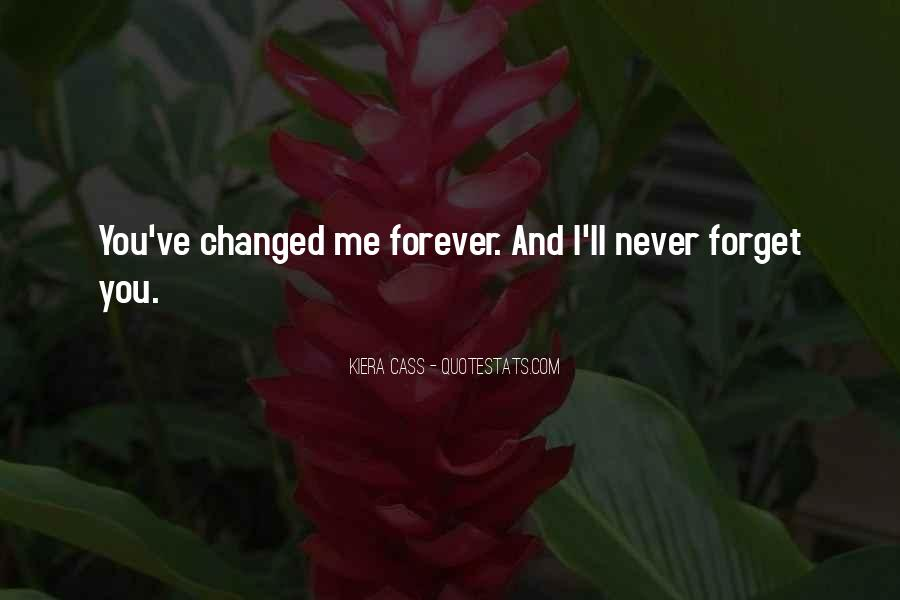 Quotes About Change And Goodbye #480692