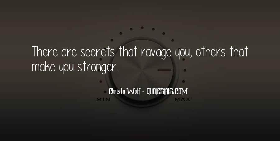 Quotes About Makes You Stronger #414560