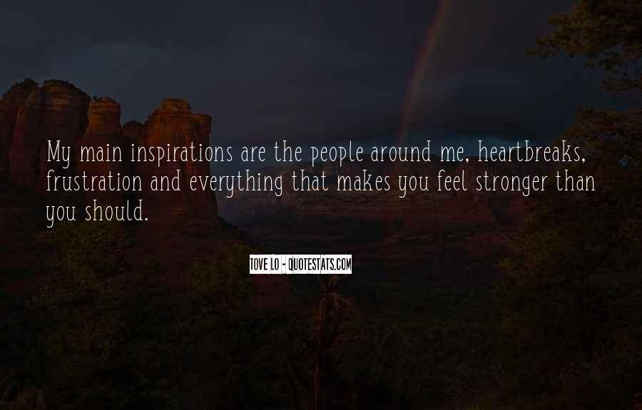 Quotes About Makes You Stronger #796256
