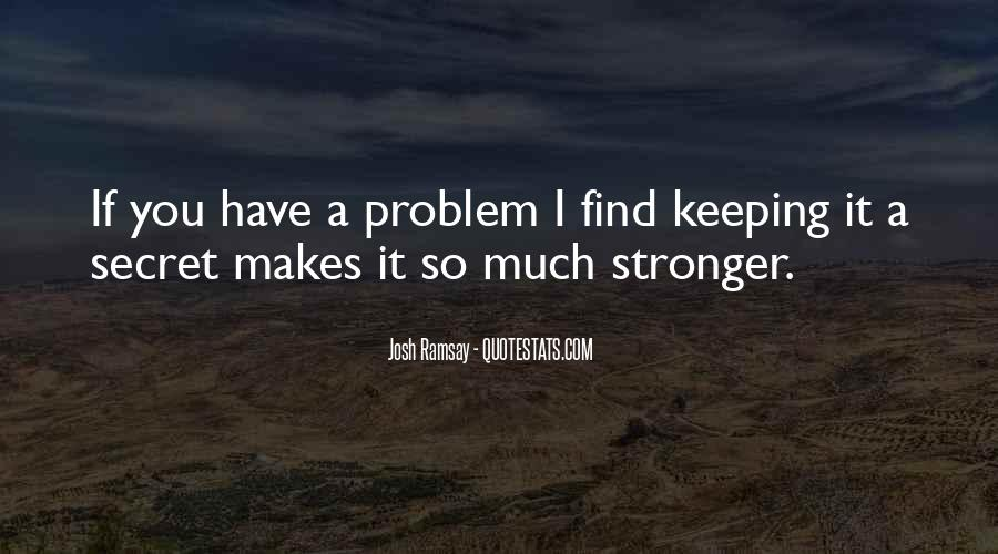 Quotes About Makes You Stronger #943456