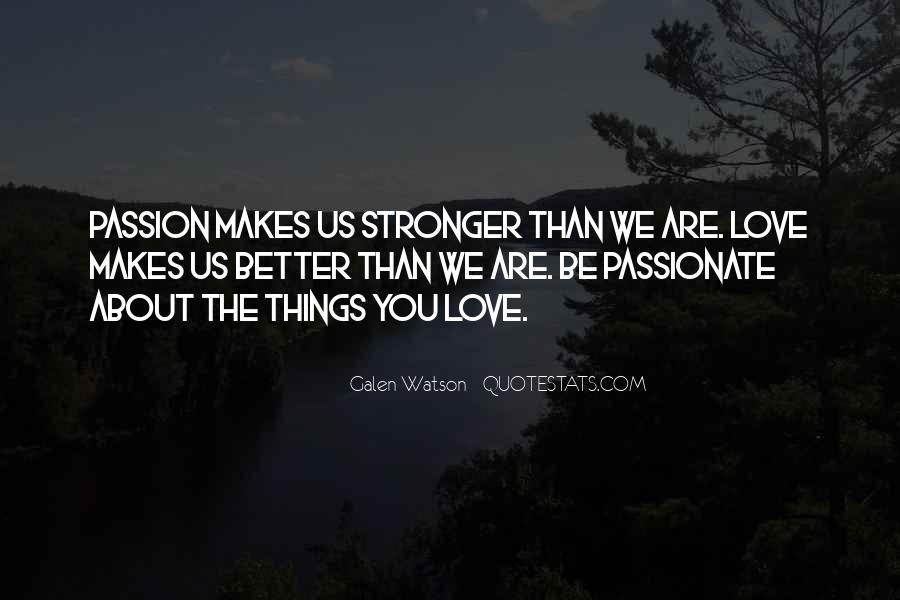 Quotes About Makes You Stronger #945472