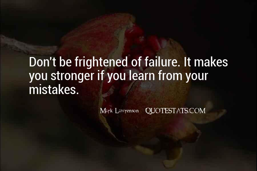 Quotes About Makes You Stronger #978042