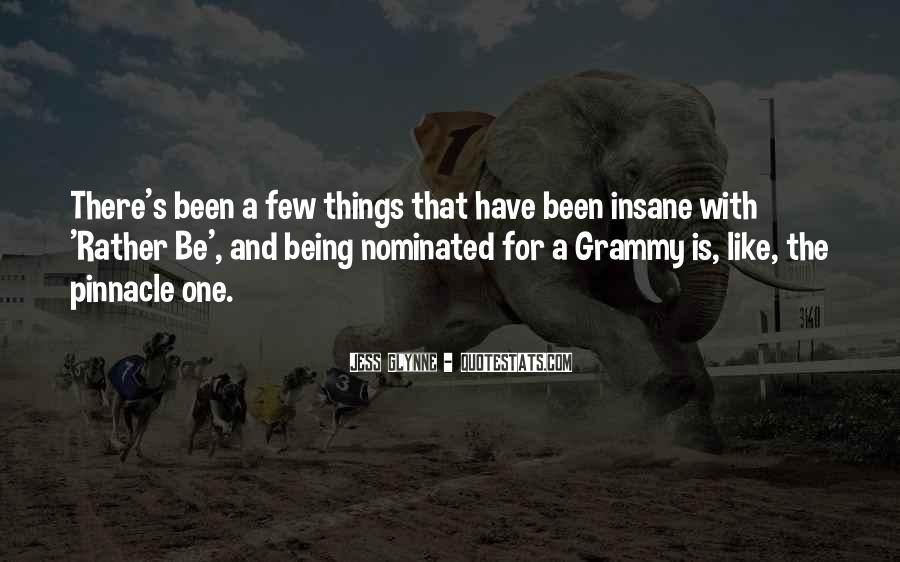 Quotes About Being Nominated #924140