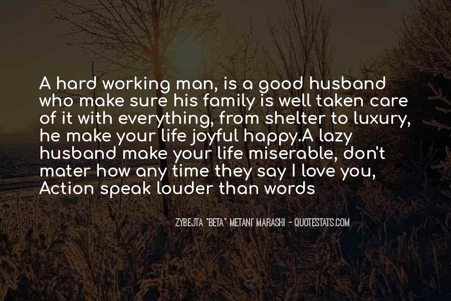 Quotes About Hard Family Life #1581617