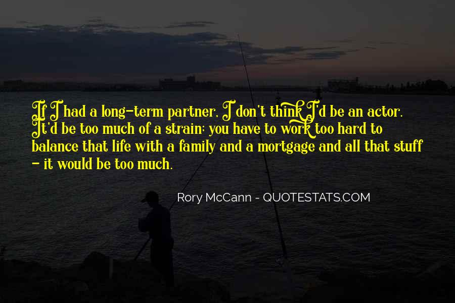 Quotes About Hard Family Life #8124