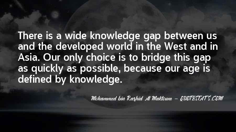 Quotes About Knowledge And Age #1363773