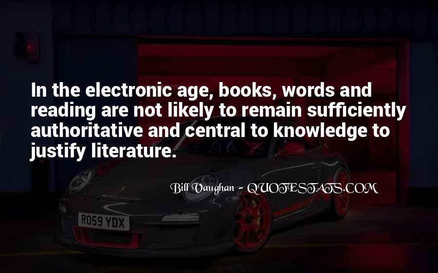 Quotes About Knowledge And Age #1413527