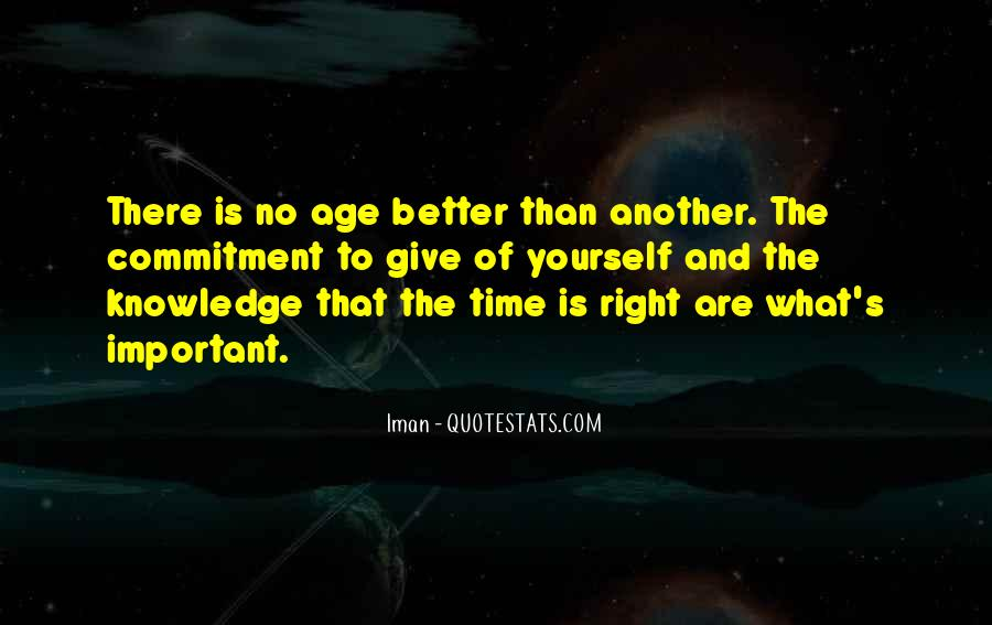 Quotes About Knowledge And Age #1824282