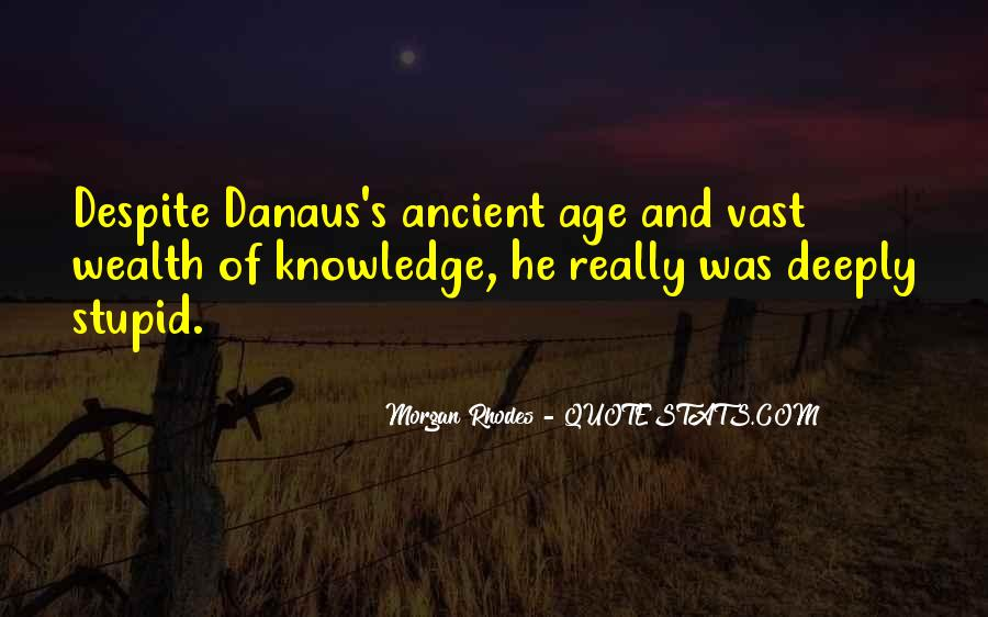 Quotes About Knowledge And Age #431384