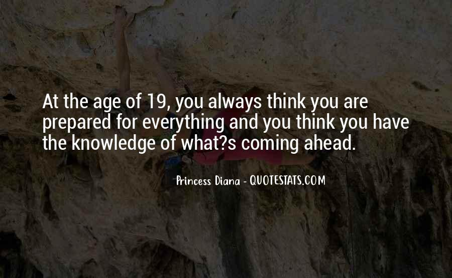 Quotes About Knowledge And Age #48387