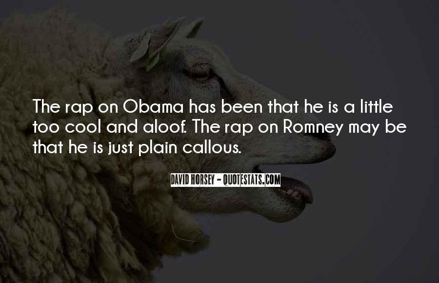 Quotes About Romney And Obama #105289