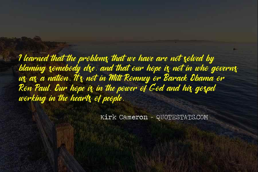 Quotes About Romney And Obama #1166918