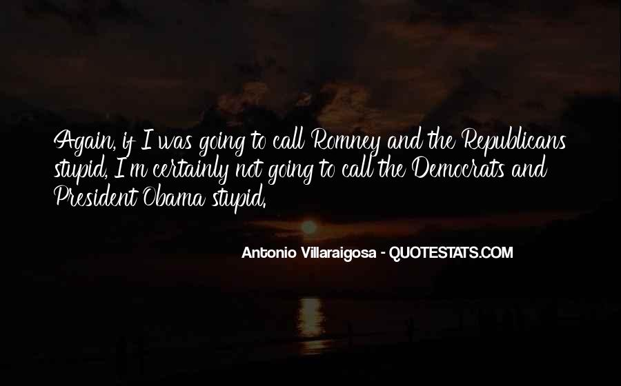 Quotes About Romney And Obama #11681