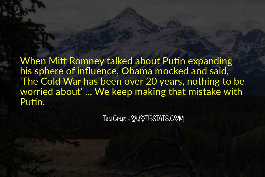 Quotes About Romney And Obama #1394158