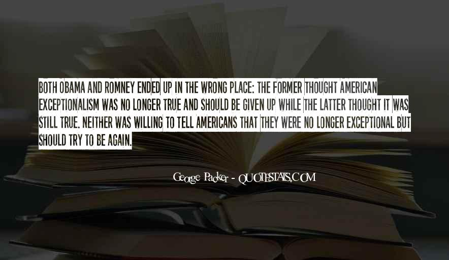 Quotes About Romney And Obama #1440187