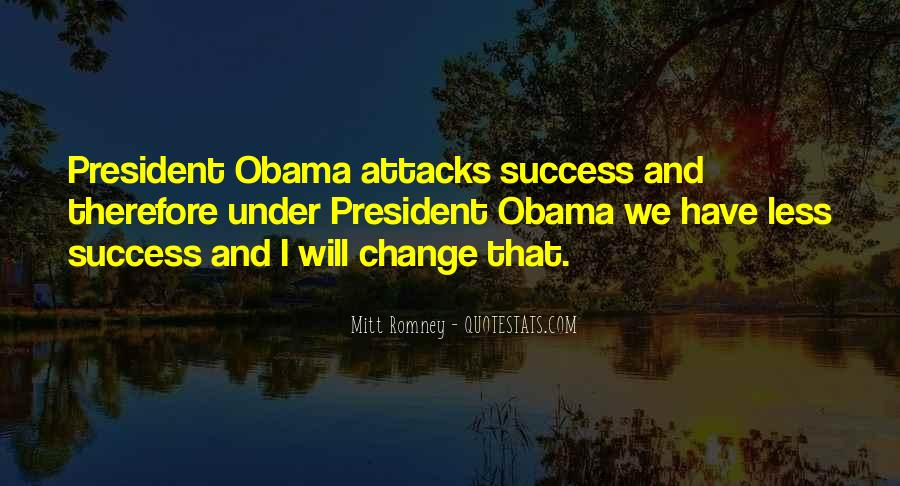 Quotes About Romney And Obama #1479758